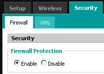 Activation firewall